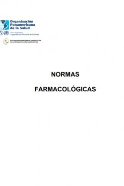 normas farmacologicas